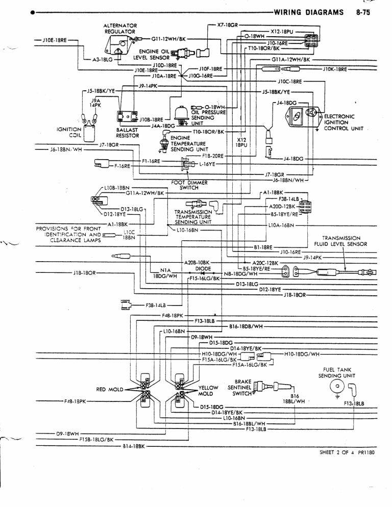 Daves Place 78 Dodge Class A Chassis Wiring Diagram – Dodge Rv Wiring Diagram