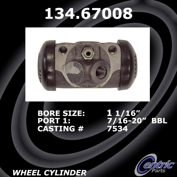Drum Brake Wheel Cylinder-Premium Wheel Cylinder-Preferred Front Centric
