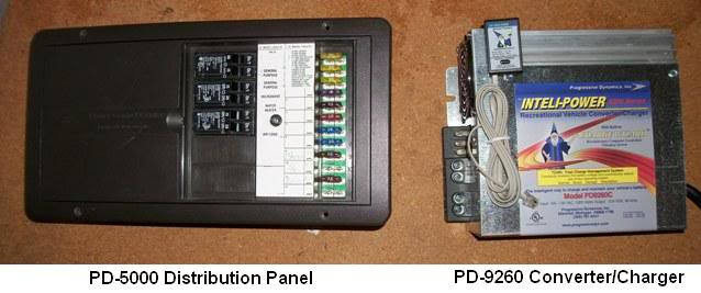 PD5000 01 PD9260 12vdc converter and distribution upgrade Camper Fuse Panel at readyjetset.co